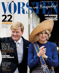 Proefabonnement: 3x Vorsten € 15,-: Vorsten is het maandblad over alle Vorstenhuizen. Profiteer nu van een eenmalig aanbod voor nieuwe abonnees.