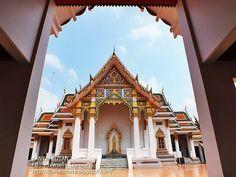 Thailand here ทริปตามใจ ไปตามทาง: วัดพระศรีมหาธาตุวรมหาวิหาร บางเขน กทม. Wat Phra Sr...