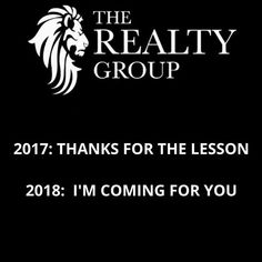 2017 is coming to an End, Bring on 2018! Wishing Everyone a Safe and Happy New. Work Hard, Play Harder! For All of Your Real Estate Needs Call The Realty Group at 416-658-8888  #THEREALTYGROUP #NEVERTOBUSYFORYOURREFFERAL #RESIDENTIAL #INVESTMENT #REALESTATE #REALTOR #REALESTATELIFE #YORK #GTA #VAUGHAN  #KLEINBURG  #MAPLE #TORONTO  #WOODBRIDGE #HOMEFORSALE #FORSALE #LISTEDANDSOLD #REALESTATELIFESTYLE #LUXURYREALESTATE #LUXURYHOMES #CONDO #ANOTHERDAYINPARADISE - posted by THE REALTY GROUP…