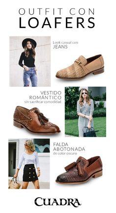5c4bab4c25 Esto es lo último en moda para las amantes de los loafers.  moda2019