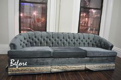 Before  After: A Couch Update That Cost $0Brick City Love
