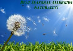 How I beat allergies naturally!  Medication-free tips to ban allergies for good!