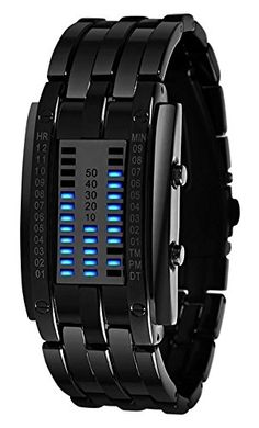 Luxury Men's Women Black Stainless Steel Date Digital LED Bracelet Sport Watches (Women Black) Biaoge http://www.amazon.com/dp/B00Y2AQ4E0/ref=cm_sw_r_pi_dp_.bkNvb1AX603Z