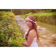Model:Hayley. Whimsical photo shoot. Taken at Spittal Pond in Smiths, Bermuda. Photo credit: Taja Nicole Photography.