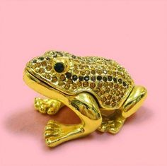 Frog trinket box