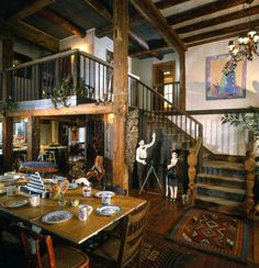 Pole Barn Interior Finishing | Timber Frame Farm House and Guest House | Post  Beam | Vermont Timber ...