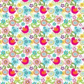 Chirpy 1 fabric by yuyu for sale on Spoonflower - custom fabric, wallpaper and wall decals