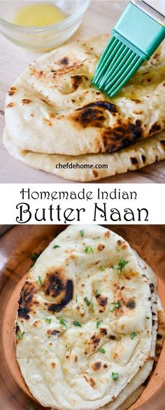 Indian Naan Bread for Easy Indian Dinner at Home | chefdehome.com
