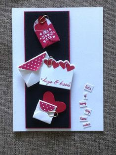 For the past few weeks, I've been working on some NEW goodies which feature in our upcoming Occasions Catalogue. All of these pr. For the past few weeks, I've been working on some NEW goodies which feature in our upcoming Occasions Cata Love Valentines, Valentine Day Cards, Love Cards, Diy Cards, Cardmaking And Papercraft, Love Stamps, Handmade Birthday Cards, Scrapbooking, Homemade Cards