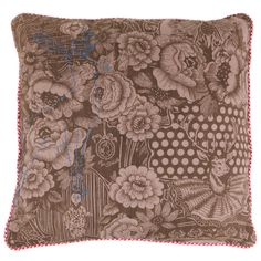 Discover the Pip Studio Wallpower Cushion - Khaki at Amara