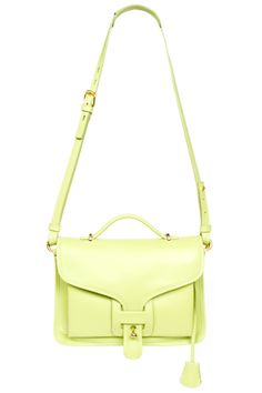 Just love the springy color and profile of this Opening Ceremony bag :: 12 Incredible Statement Bags Worth The Splurge  #refinery29
