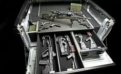 This would be perfect for a tool box and guns and ammo