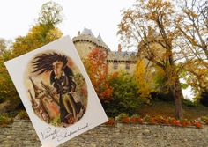 LE PETIT APPARTEMENT DU ROI guidé par le gazouillement de la grive des mémoires d'outre tombe...Château de Combourg... #lepetitappartementduroi #albanguillemois #artiste #mireilleguillemois #élégance #poésie #raffinement #histoire #rois #écrivains #chevaliers #cartepostale #livre #édition #bibliothèque #paris #combourg #bretagne #saintmalo #chateaubriand #mireilleguillemoisdelorme #histoiredefrance #monuments #musées