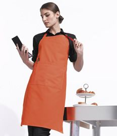 Click to enlarge image of  Premier 'Colours' Bib Apron with Pocket
