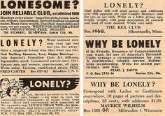 Lonely hearts jewish personals