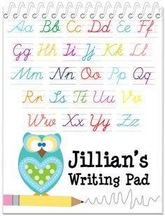 Penmanship Practice, Handwriting Practice Worksheets, Cursive Handwriting, Worksheets For Kids, Homework Chart, Calligraphy Lessons, Improve Your Handwriting, Stationery Store, Personalized Books