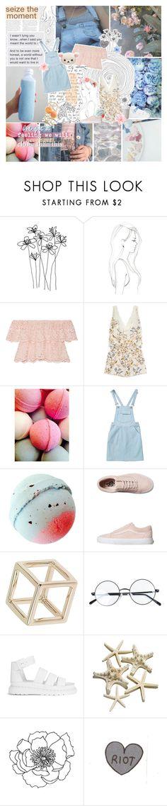 """""""Starlight in the middle of the Ocean"""" by when-you-listen ❤ liked on Polyvore featuring GET LOST, Monique Péan, Miguelina, STELLA McCARTNEY, Vans, Topshop, Dr. Martens, Luli and bedroom"""