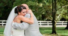 Father-Daughter First Look www.cedarwoodweddings.com #cedarwoodweddings #weddings #weddinginspiration