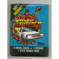 1989 Topps Back to the Future Part 2 Trading Cards