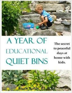 These are amazing Quiet boxes for quiet time activities for kids! Awesome for preschoolers and toddlers who no longer nap. A Year of Educational Quiet Bins: The secret to peaceful days at home with kids.: Sarah Noftle: 9781515007081: Amazon.com: Books