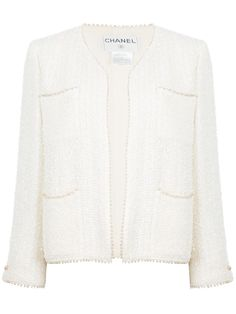 From Dress the Part: Blue Jasmine  Chanel bouclé jacket, $2,515