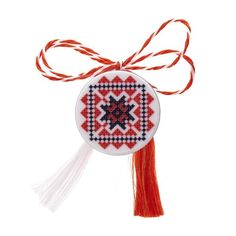 Broșă mărțișor pin Goblen Projects For Kids, Dream Catcher, Origami, Diy And Crafts, Christmas Ornaments, Cool Stuff, Holiday Decor, Accessories, Kids Service Projects