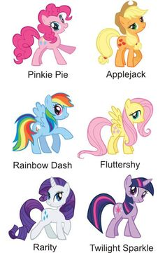 My Little Pony Stickers Labels Glossy AND Water by customstickers, $5.75