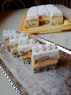 Breakfast Recipes, Dessert Recipes, Hungarian Recipes, Cake Bars, Tiramisu, Clean Eating, Gluten Free, Pie, Sweets