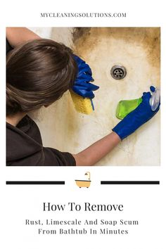 House Cleaning Tips, Diy Cleaning Products, Cleaning Solutions, Cleaning Hacks, Daily Cleaning, How To Clean Rust, How To Remove Rust, How To Clean Iron, Bathing