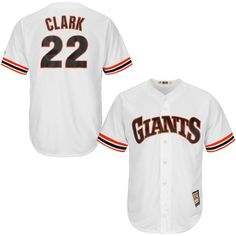 Will Clark San Francisco Giants Majestic Cool Base Cooperstown Collection Player Jersey - White