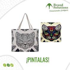"b40e519bacb Brand Solutions on Instagram  ""😊Nuestras bolsas están hechas con lona de  algodón 100% biodegradable"