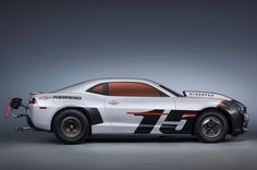 Release 2015 Chevrolet Camaro COPO Review Side View Model