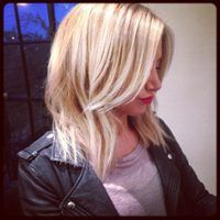 Long Shattered Bob Haircut— I don't want it this short right now, but I kind of like it & would consider in the future