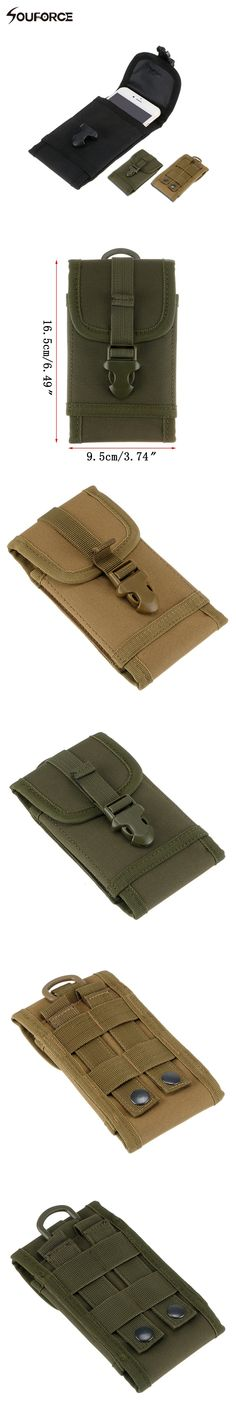 Practical Belt Pouch For Mobile Phone iPod Camera Magazine Cartridge Clip Pouch Military TacticalHunting Bag