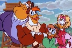 DuckTales_LaunchpadMcQuack-Family