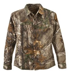 RedHead® Silent-Hide® Shirt for Youth - Long Sleeve | Bass Pro Shops #youthhuntinggear #kidscamo