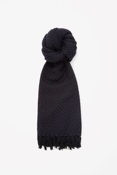 COS   Woven wool scarf