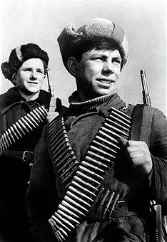 WWII. Young soviet guerrillas. Reproduction. Photo TASS / Yakov Ryumkin - pin by Paolo Marzioli