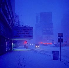 Winter evening by Pete Turner