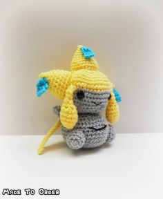 Crochet Jirachi Inspired Chibi Pokemon by MissJennysCrochet
