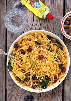 Harissa Spaghetti