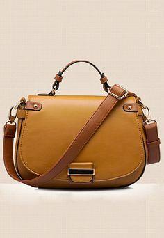 Vintage Small Cross Body Messenger Bag Tote Handbag