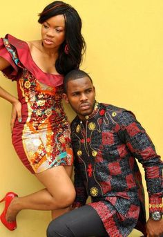 Cute African/nigerian engagement photos!