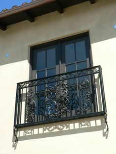 Decorative as well as functional Wrought Iron Window Guards