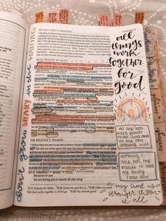 Bible Study Notebook, Bible Study Journal, Scripture Study, Bible Art, Bible Bullet Journaling, Cute Bibles, Bibel Journal, Bible Doodling, Bible Notes