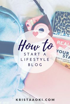 How to Start a Lifestyle & Travel Blog | Krista Aoki, a lifestyle & travel blog - become inspired to start a self-hosted WordPress blog for new bloggers!