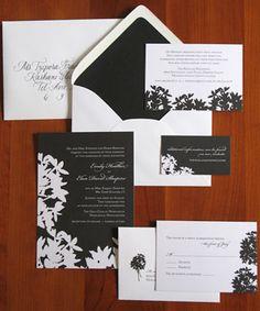 Tarjetas de Invitación -- Fotografía: Brown Sugar Design