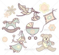 Realistic Graphic DOWNLOAD (.ai, .psd) :: http://vector-graphic.de/pinterest-itmid-1002063916i.html ... Different Baby Illustrations ...  abstract, baby, bird, birth, child, cradle, fairy, flower, illustration, kid, kite, little, lovely, present, stork, teddy, vector  ... Realistic Photo Graphic Print Obejct Business Web Elements Illustration Design Templates ... DOWNLOAD :: http://vector-graphic.de/pinterest-itmid-1002063916i.html