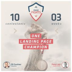 Unbounce & ConversionXL Present: Page Fights