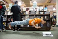 Durell Comedy, Barnes And Noble (Dancers Among Us by Jordan Matter). So cool.